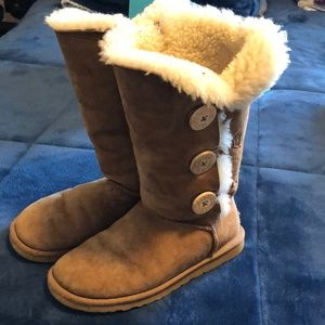 Ugg tall boots.